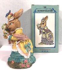 The Victorian Collection Figurine Elizabeth Longears VA22 Easter Spring Bunny