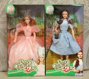 NRFB 75th anniversary  BARBIE WIZARD OF OZ  DOROTHY AND GLINDA THE GOOD WITCH