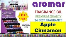 Aromar Aromatherapy Essential Fragrance 100% Concentrated Oil 2.2 APPLE CINNAMON