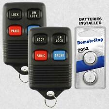 keyless remote Ford Contour 1995-2002 LOT of 2 entry car keyfob clicker control