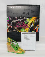 Just The Right Shoe by Raine Shoe Miniatures- Holey Slide Nib Step into Summer
