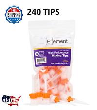 240/PK HP Orange 10:1 CROWN & BRIDGE Mixing Tips  Dental Core Temporary Material