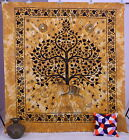 Indian Elephant Tree Of Life Psychedelic Wall Hanging Tapestry Ethnic Decor Art