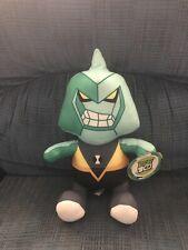 "Toy Factory Cartoon Network Ben 10 Diamondhead Plush Stuffed Animal 12"" NWT Tag"