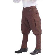 Forum Novelties Steampunk Jodhpur-Style Pants, Brown - One Size