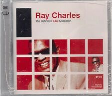 2 CD Ray Charles `The Definitive Soul Collection` Neu/New Digitally Remastered