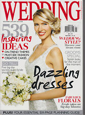 WEDDING MAGAZINE UK DEC'12/JAN 2013,539 INSPIRING IDEAS,ON-TREND THEMES,FASHION.