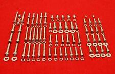 HONDA 1983-1987 XL600R POLISHED STAINLESS STEEL ENGINE ALLEN BOLT KIT