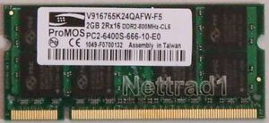2 X 2GB RAM  (4GB) Lenovo R61i T60 T60p T61 T61p X60 Speicher  -und andere-