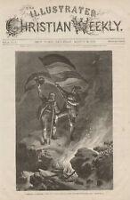 German Fatherland Mount Watzmann Bavaria Antiq Print
