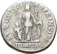 DIONYSOS Trajanus AR-Denar Rom Abundantia #LH 2194