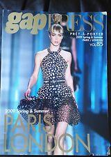 GAP PRESS MAGAZINE 2009 spring and summer  volume 85  Pret-A-Porter