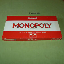 Monopoly property trading game Waddingtons UK £ output © 1984 inglese RAR TOP!
