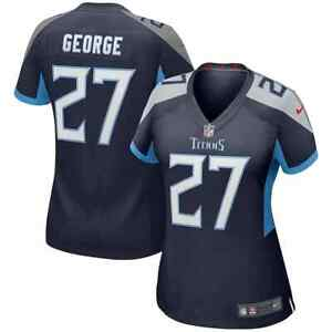 New NFL Eddie George Tennessee Titans Nike Women's Game Retired Player Jersey 27