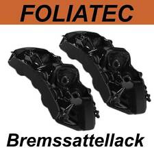 FOLIATEC BREMSSATTELLACK SCHWARZ GLANZ Bremssattel Lack Farbe 2164 für BMW