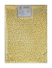 Verxii Home 17x23 Luxury Soft Ivory Non-Slip Bath Floor Shower Mat Rug Carpet