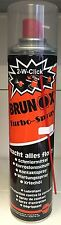 Brunox Turbospray 500 ml 2-W Click Kontaktspray Turbo Spray Multifunktionsöl