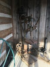 Antique Olney and Warrin Drill Press