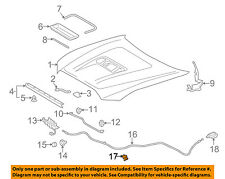 TOYOTA OEM Hood-Release Cable Clamp 9046906005