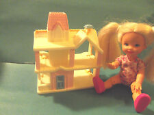 Barbie 1:6 Furniture Vintage Playskool 1990 Miniature Victorian Dollhouse
