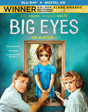 Big Eyes (Blu-ray/Digital) Amy Adams/Christoph Waltz/Tim Burton BRAND NEW