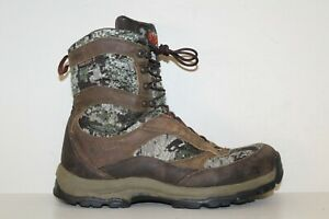 Danner Men's Hunting Boot Sz 10 D Optifade Forrest Camo Gore-Tex Leather Textile