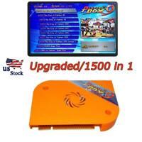 1500 In 1 Pandora's Box 9 Arcade Games Jamma PCB Board Multigame Box HDMI VGA