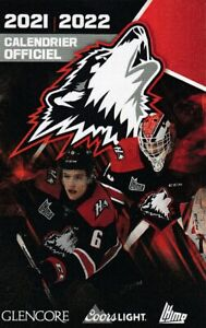 New --- 2021-22 QMJHL' ROUYN-NORANDA HUSKIES Hockey Pocket Schedule!
