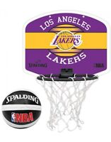 Spalding Original NBA Team LA Lakers Basketball Miniboard With Soft Miniball