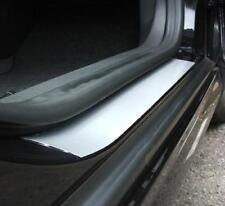 Cepillado Aleación Alféizar Paso de la puerta Protectores de guardia se ajusta Volvo/Saab (03)