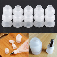 7 Styles Icing Piping Bag Russian Nozzle Converter Pipeline Coupler Cupcake Tool