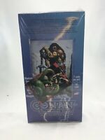 1996 CONAN THE MARVEL YEARS ALL-CHROMIUM COMIC IMAGES 36 PACK SEALED BOX