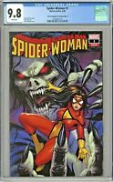 Spider-Woman #1 CGC 9.8 Comic Kingdom of Canada Edition Kirkham Variant