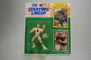 Troy Aikman Rookie 1990 NFL Starting Lineup Action Figure BZ037