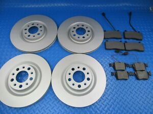 Alfa Romeo Stelvio front rear brake pads and rotors #9020