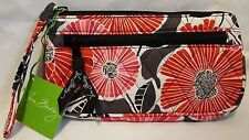 Vera Bradley CHEERY BLOSSOMS CHERRY WRISTLET WALLET FRONT ZIP SMARTPHONE NWT