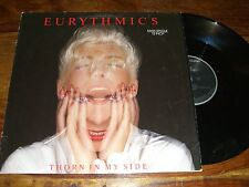 """MAXI 45 TOURS / 12"""" MAXI--EURYTHMICS--THORN IN MY SIDE--1986"""