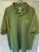 Oregon Ducks Starter Polo Shirt Green Large L