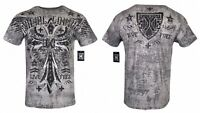 XTREME COUTURE by AFFLICTION Men T-Shirt DELTA FORCE Tatto Biker MMA UFC $40