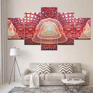 Wall Art Canvas Painting Psychedelic Alex Grey Metal Poster Home Decor Frame