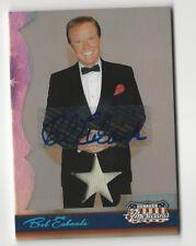 Bob Eubanks 2007 Donruss Americana Costume Relic Autograph Card Auto /150