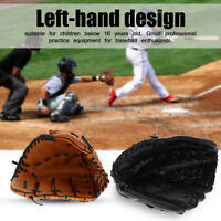 Child Adults Professional Baseball Glove Softball Mitts Outdoor Sports Left Hand