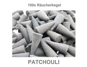 100x Räucherkegel lose, Patchouli +NEU+