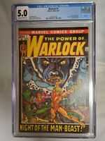 WARLOCK #1 (1972) CGC 5.0 KEY MARVEL BRONZE AGE 1ST ONGOING TITLE