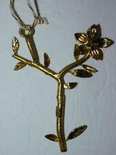 Anthropologie Budding Monogram Ornament- P thru Y-$12 MSRP