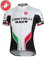 Castelli White Servizio Corsa Men's Cycling Jersey Size XS-3XL : BEST SELLER