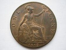 1912 penny, une UNC.