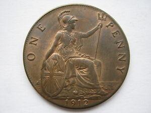 1912 Penny, A UNC.