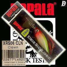 Rapala X-RAP Shad 6cm cln Estonia nuevo & OVP