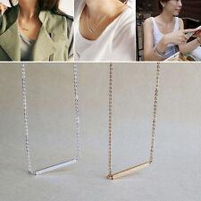 Pendant Bar Horizontal Stick OL Bone Necklace Simple
